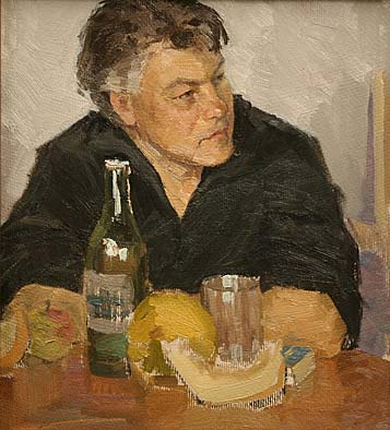 Portrait of the artist Fomin.1972
