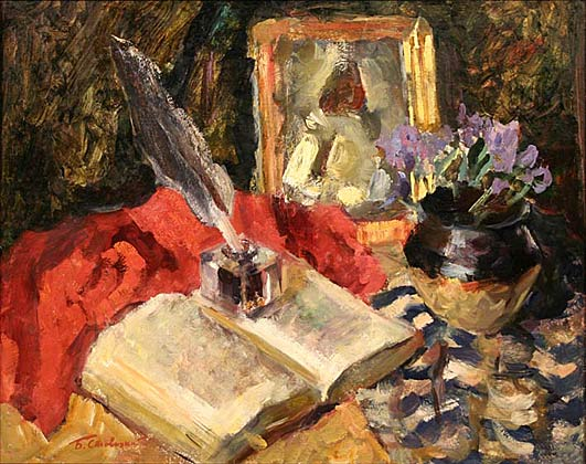 Still life with book.1963